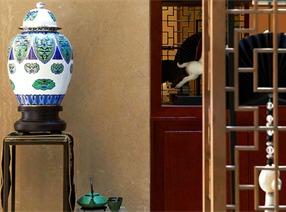 中式設計案例:桂花洲空中疊院