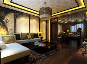 中式茶社设计案例
