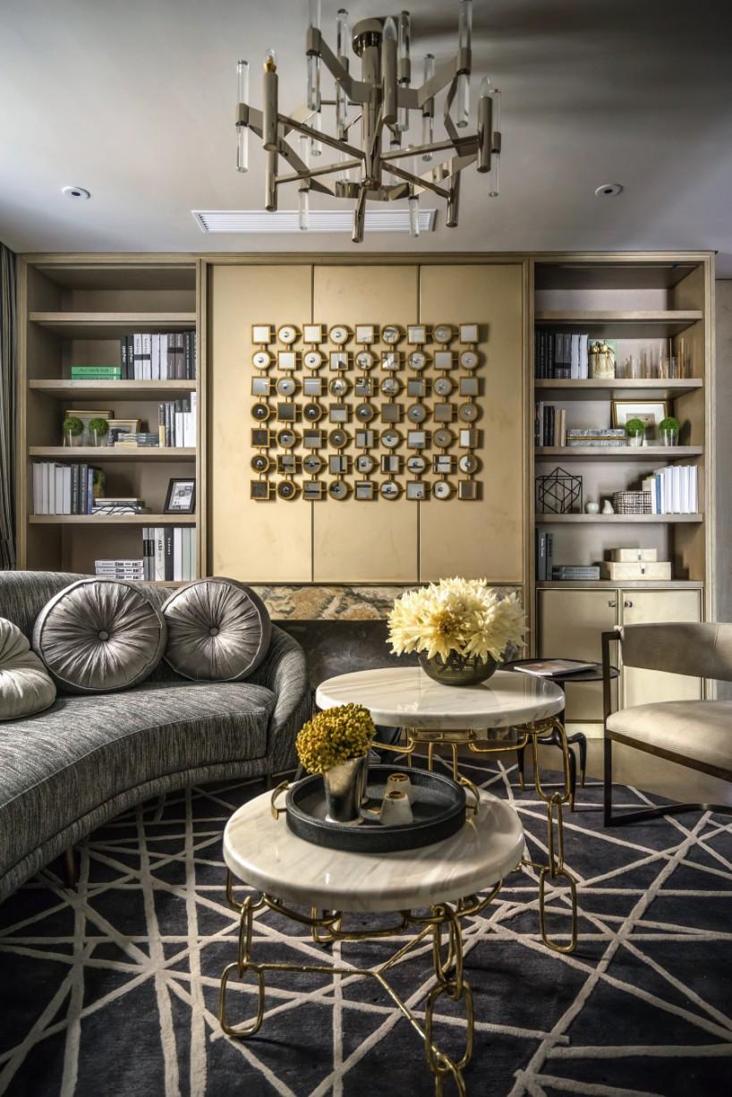 布鲁盟晋江豪宅软装设计 不局囿于风格,演绎东西方结合的空间之美