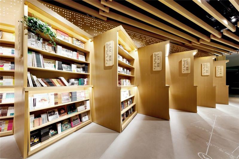 言几又杭州来福士店,书店里的江南画境|书店设计图片