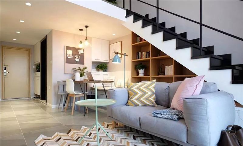47㎡挑高北欧小公寓 设计的比豪宅更惊艳!