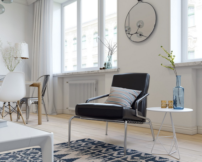Scandinavian style apartment (6)