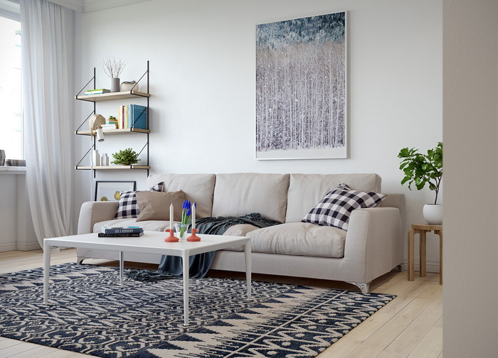 Scandinavian style apartment (2)