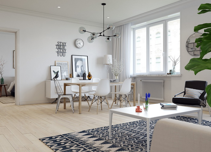 Scandinavian style apartment (1)