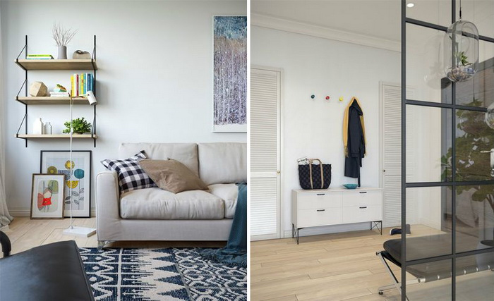 Scandinavian style apartment (3)