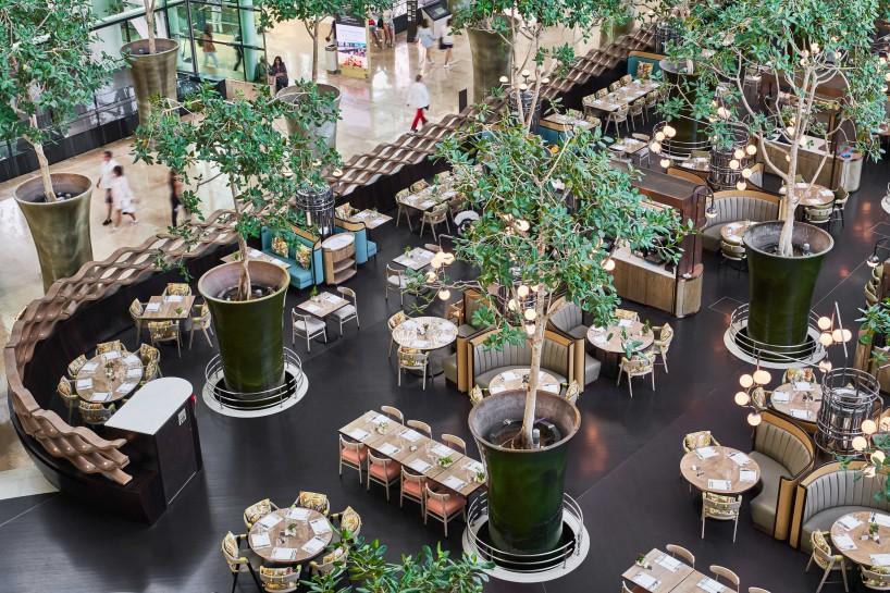 新加坡滨海湾金沙酒店RISE餐厅, by Aedas Interiors_2