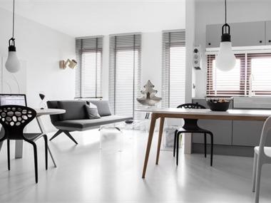 现代客厅窗户效果图