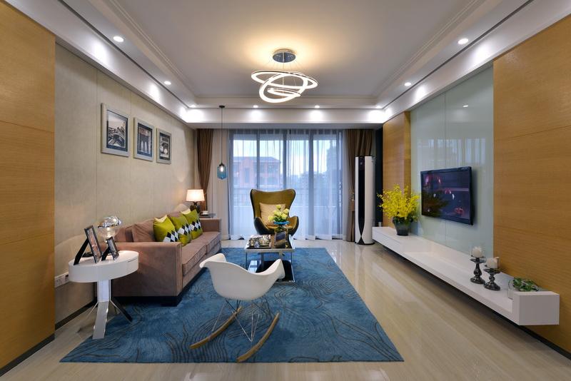 现代客厅吊顶效果图图片