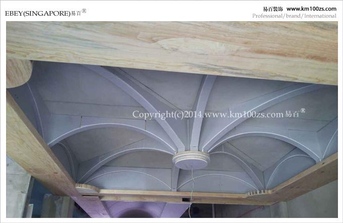 木工吊顶现场工艺0平米其它装修效果图_李鸿忱设计