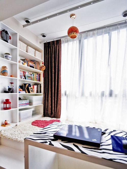 小户型书房装修效果图 小户型书房怎么设计