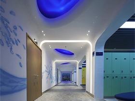 中国古海旅游度假酒店酒店空间背景墙