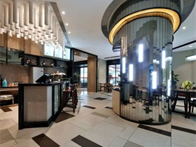 花样年 • 上海嘉年CEO服务式公寓酒店空间吊顶