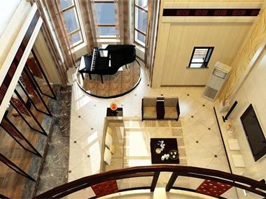 林泽宇作品:静馨墅豪宅设计客厅