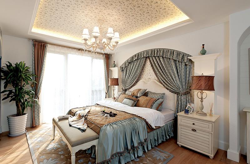 地中海风格家装案例图卧室