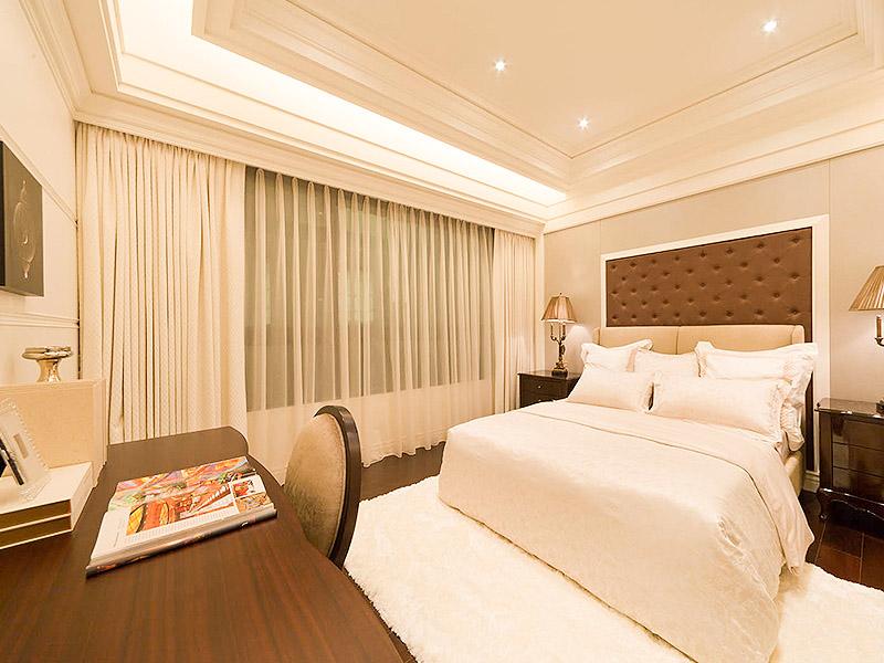 490平混搭风格家装案例图卧室