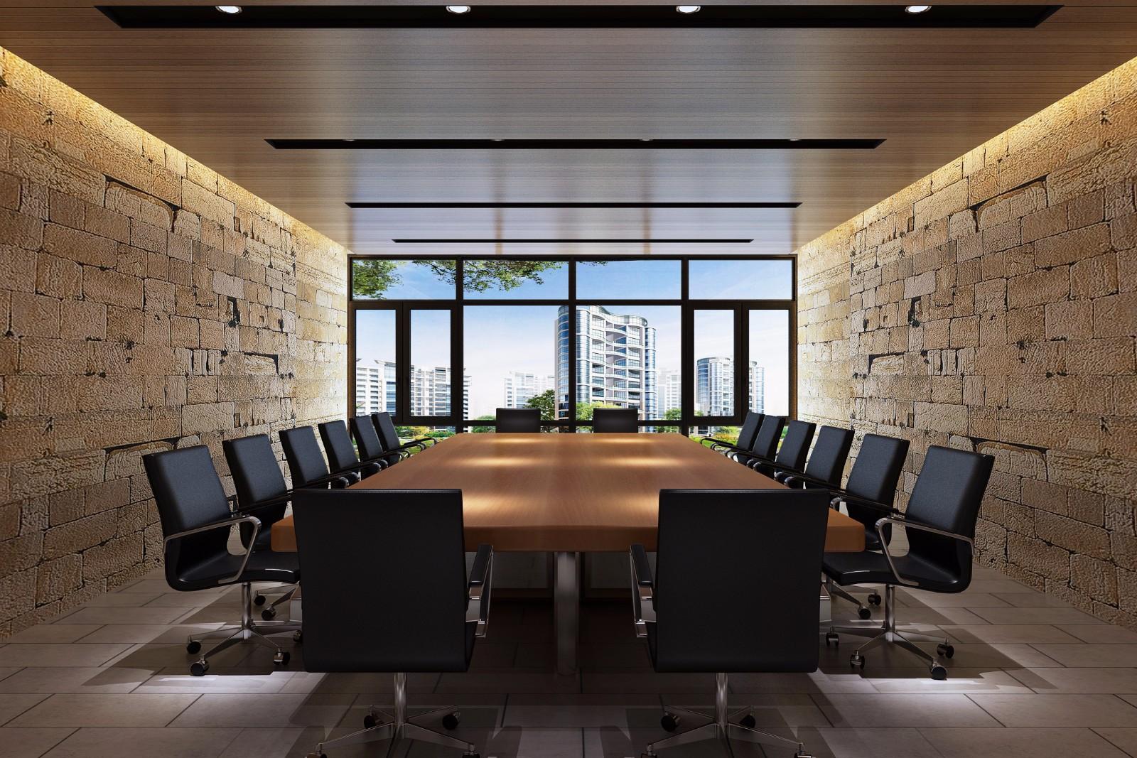 办公室会议室效果图