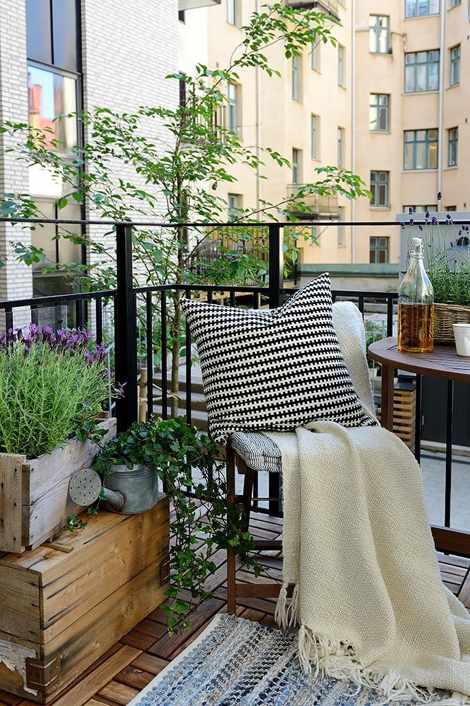 这样设计小庭院,阳台也能变成后花园