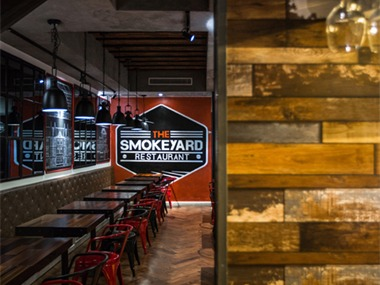 The Smokeyard 庭云(五道口店)餐饮空间