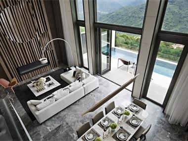 台湾华城特区别墅客厅