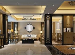 深圳西丽复式·新中式风格设计