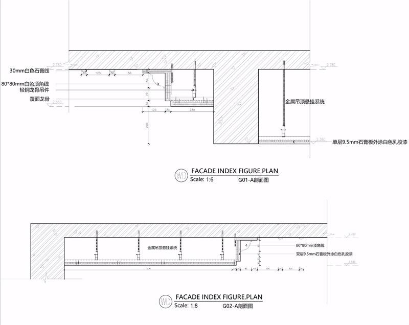 美式家装平面设计效果图
