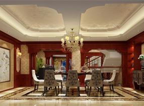 大华南湖公园世家别墅装修设计