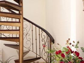 美式庭院楼梯实景图