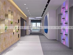 办公室设计装修如何脱离单一的白墙装饰