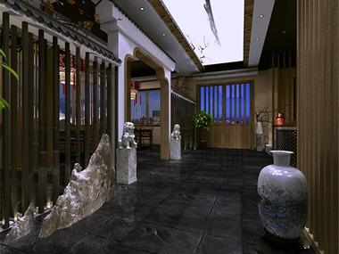 旭东设计-古越龙山黄酒餐厅