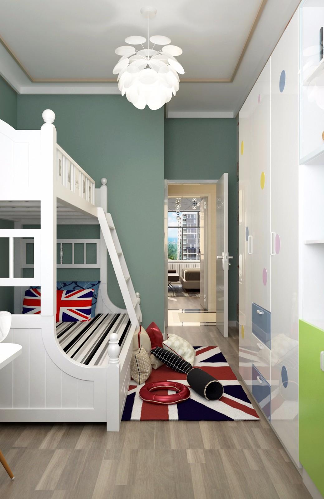 现代儿童房其它效果图