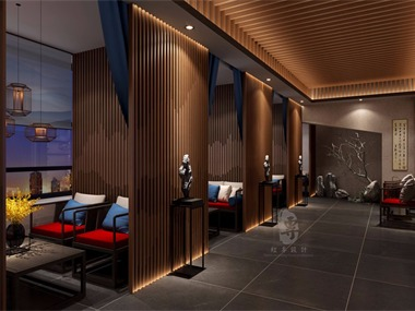 泉州专业酒店设计公司-红专设计|水云里禅茶酒店
