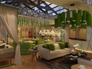唐山专业酒店设计-红专设计|品竹大酒店
