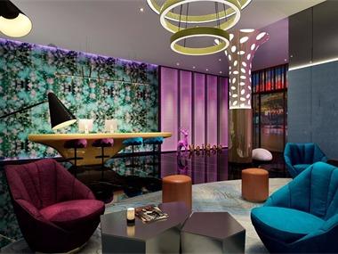 兰州专业酒店设计-红专设计|西安维度时尚酒店