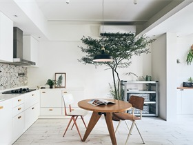 北欧厨房吊顶实景图