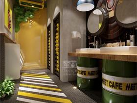 商业空间—卫生间空间设计