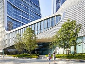 荷兰建筑设计团队UNStudio 操刀的杭州来福士广场落成