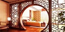 中式隔断,让你家的客厅成为艺术经典