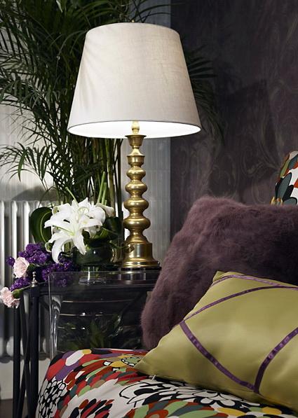 古典混搭风格装修实景图沙发一角