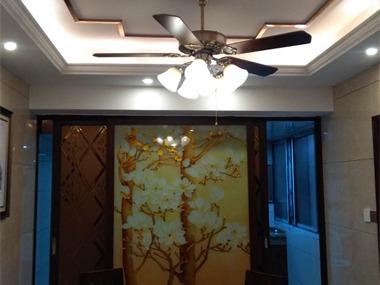 中式餐廳吊頂效果圖