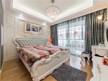 典雅简欧风案例卧室