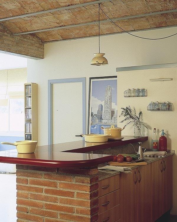 日式厨房吊顶效果图