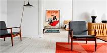 波兰公寓设计,透露出一股浓浓的复古气息