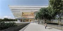 丹麦SHL建筑赢得上海图书馆东馆国际设计竞赛 设计方案效果图