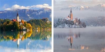 世界那么大,在这里你就可以欣赏到各地最美风景的季节变化