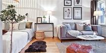35平公寓装修效果图 装饰精致的迷你北欧公寓