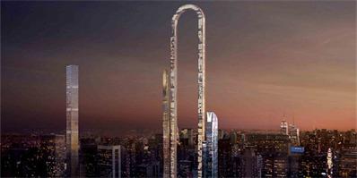 纽约将诞生一座最夸张的别针摩天大楼 外界对此褒贬不一