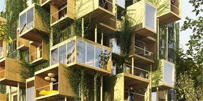 当立方体架构融入巴黎建筑,集艺术与个性于一身