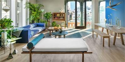 曼哈顿奢华公寓设计 以纽约传统城市住宅为设计灵感