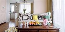 89㎡美式混搭新房,一个温馨、舒适、又浪漫的家