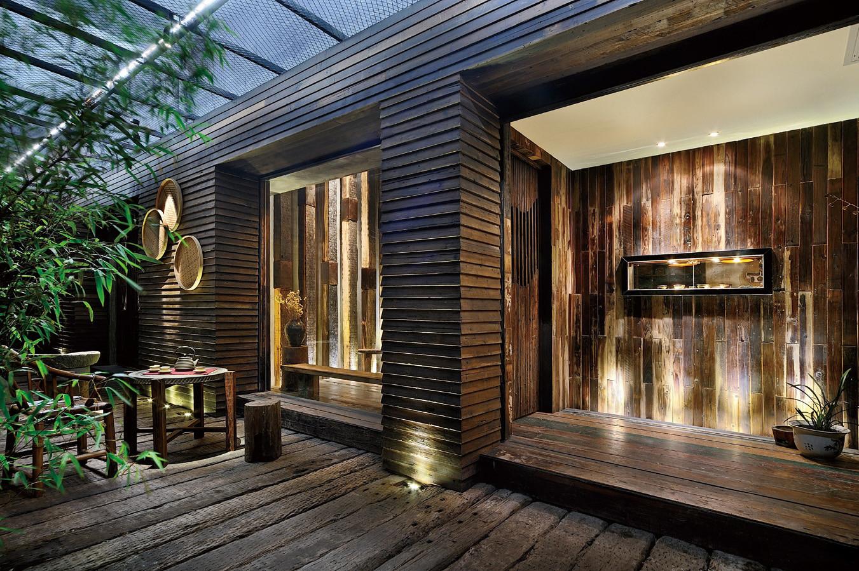 茶艺居450平米装修效果图_李佳宁设计作品 - 设计圈
